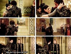 """Shut up."" (: Bash and Francis #Reign"