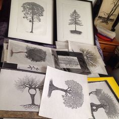 Finding balance in the trees with Sunday meetings! Sorting commission details, having clear expectations and guidelines. Good times in the tree house. Cultivate your passions and they will take care of you.  Gratitude&Blessings, art is community x~a. #acurrie #creatinglifeart #pomonalife   Learn more about my commissions at www.acurrie.com  #torontoartist #treeartist #treeart #pointillism #stippling #art #commission #artforsale #toronto #artist #natureart #homedecor #inspire #artlife…