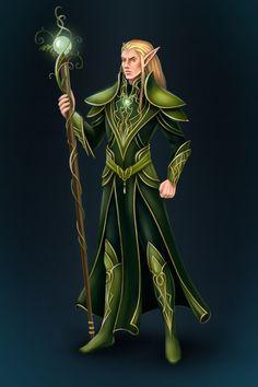 Elf by Svelien.deviantart.com on @deviantART