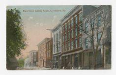 """Main Street Looking South, Cynthiana, Ky."" :: Ronald Morgan Postcard Collection"