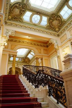 Double Staircase, Staircases, Romania, Stairs, Houses, Architecture, Classic, Home Decor, Homes