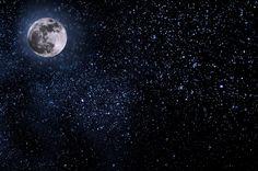 Gratis afbeelding op Pixabay - S Nachts, Hemel, Maan, Sterren