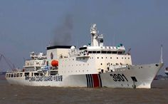 """By David Tweed (Bloomberg) — China has nearly finished a giant coast guard ship and will probably deploy it armed with machine guns and shells in the disputed South China Sea, the Global Times reported, dubbing the vessel """"The Beast."""" China Coast Guard vessel 3901, with a 12,000 ton displacement, will carry 76 millimeter rapid …"""