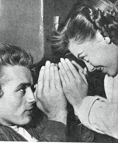 James Dean and Natalie Wood.