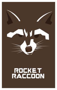 Rocket Racoon.