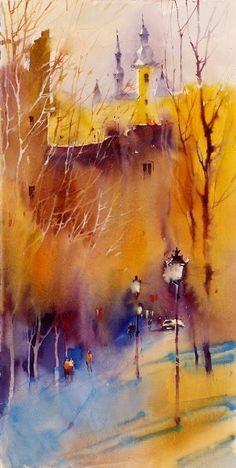 Watercolor by Viktoria Prischedko - Поиск в Google