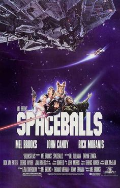 Spaceballs Cast Art Movie Poster 11x17