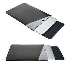 For Apple Macbook Pro Air Sleeve Case Laptop Cover Bag Leather Laptop Case, Computer Sleeve, Macbook Sleeve, Custom Laptop, Laptop Covers, Apple Macbook Pro, Laptop Computers, Laptop Sleeves, Leather Bag