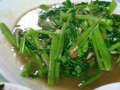 Adobong kangkong - Filipino vegetable dish