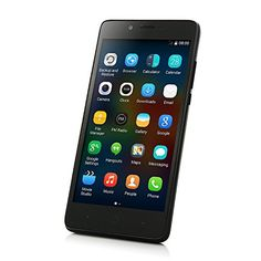 64bit 5.0 Pulgada Elephone P6000 Smartphone Android 4.4 4G MTK6732 1.5GHz Quad Core 2GB 16GB Doble Cámaras Negro