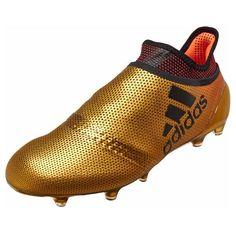 e4d29b6c5de adidas X 17+ Purecontrol FG Mens Soccer Cleats (Gold)
