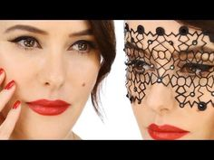 Lisa Eldridge - Glamorous Vintage Inspired Party Make-up. For more tips and a list of products visit http://www.lisaeldridge.com/video/25509/glamorous-vintage-inspired-party-make-up/ #MakeUp #Beauty #Vintage #Tutorial