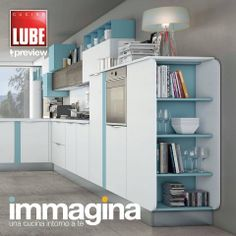 Immagina - Cucine Lube Preview Cover Graphic - render - project | Studio Ferriani