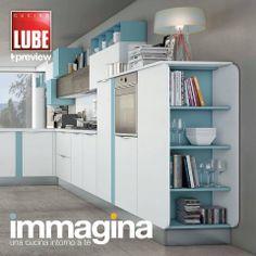 Immagina - Cucine Lube Preview Cover Graphic - render - project | Studio Ferriani