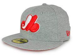 Custom NEW ERA x MLB「Montreal Expos Jersey Basic」59Fifty Fitted Baseball Cap