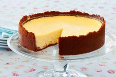 This tart cheesecake is easy to make and will be a hit with the whole family.