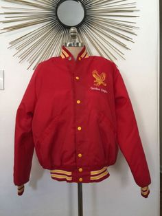 Vintage Salt Lake Golden Eagles Hockey Jacket Rare