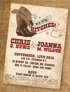 wanted! western wedding invitation free template printableinvitati, Wedding invitations