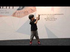 Kazuya Murata - Asia Pacific Yoyo Championship 2013 2) - YouTube - Increíble talento de este niño con su yo-yo