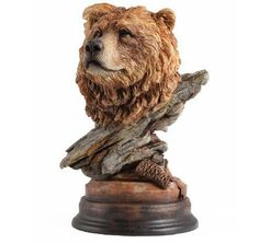 Bear Sculpture Bruin by Mill Creek Studios