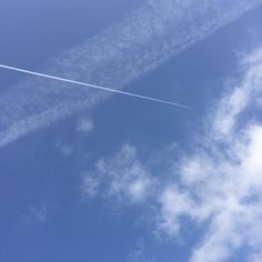 contrail #nature #sky #clouds #Japan #airplane #photo #photographer #photography #photodaily