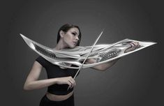 Amazing 2-String 3D Printed Violin - looks a bit unwieldy to me - AN