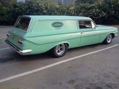 1961 Chevy Sedan Delivery - i've never seen one , got to be Rare