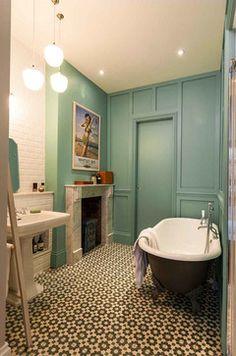 Evangelist Rd eclectic-bathroom