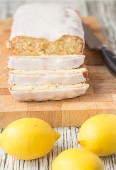 Easy Cakes To Make, How To Make Cake, Lemon Loaf Cake, Lemon Cakes, Low Fat Cake, Baked Mashed Potatoes, Starbucks Lemon Loaf, Cake Mixture, Wheat Free Recipes