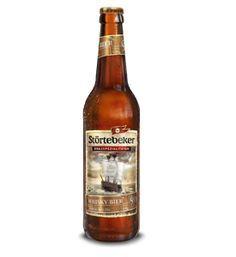 Störtebeker Whisky-Bier - Naturbelassenes obergäriges bernsteinfarbenes Strong-Ale mit Stammwürze 20,5% und Alk. 9,0% vol.