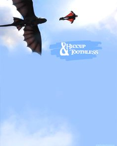 Hiccup and Toothless, the Dynamic Duo!