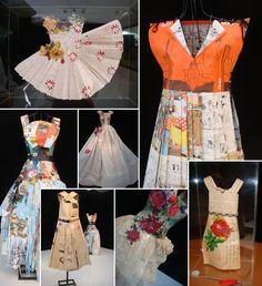 Analu Prestes - Robes papier