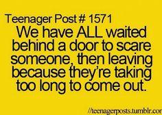 Haha yep #teenagerposts