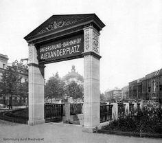 Alfred Grenander, U-Bhf Alexanderplatz, Portal Bauzeit 1911-1913