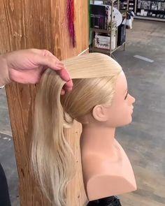 Hair Style Vedio, Hairdo For Long Hair, Ballroom Hair, Hair Up Styles, Dance Hairstyles, Brown Blonde Hair, Hair Videos, Bridesmaid Hair, Hair Designs