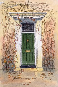Autumn Door ~,John Edwards
