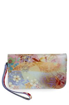 Spring staple - pretty floral wallet