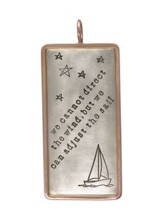 Sailboat Charm by Heather Moore