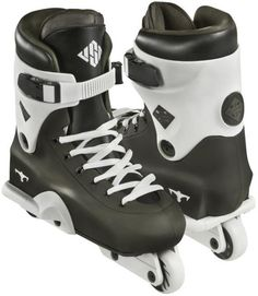 USD UFS Throne EVO 2014 aggressive skates complete setup