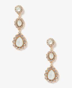 Scalloped Drop Earrings | FOREVER21 - 1000046861