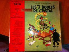 """33T LES Aventures DE Tintin """"LES7BOULES DE Cristal"""""""