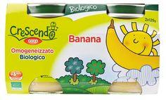 Omogeneizzato biologico Banana 2x125g
