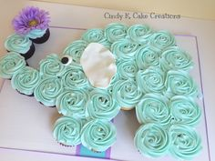 Baby shower cupcakes for girls elephant sweets 30 Ideas Baby shower cupcakes for girls elephant swee Cupcakes Baby Shower Niño, Idee Baby Shower, Baby Shower Desserts, Baby Shower Themes, Shower Ideas, Elephant Birthday Cakes, Elephant Cupcakes, Elephant Baby Shower Cake, Cupcakes For Boys