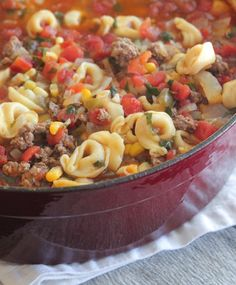 Tortellini Taco Soup - Picky Palate                                                                                                                                                                                 More All Butter Pie Crust, Homemade Taco Seasoning, Winter Food, Soup Recipes, Cooking Recipes, Dinner Recipes, Crockpot Recipes, Chicken Recipes, Soup And Salad