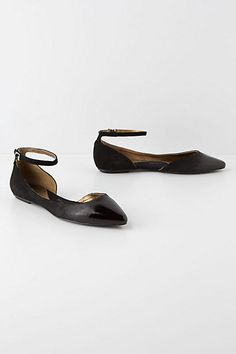 #Glossed D'Orsay Skimmers #anthropologie