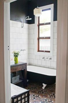 Salle de bain zen-  le printemps est là! - salle-de-bai-zen-vintage-fenetre-vase