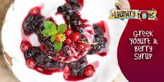 Greek Yogurt & Berry Syrup (FP)