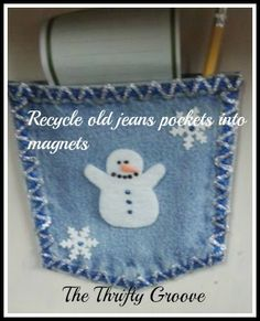 recycling jeans pockets 2019 recycling jeans pockets The post recycling jeans pockets 2019 appeared first on Denim Diy. Diy Christmas Mantel, Kids Christmas, Xmas, Christmas Ornaments, Jean Crafts, Denim Crafts, Autumn Crafts, Holiday Crafts, Sewing Crafts