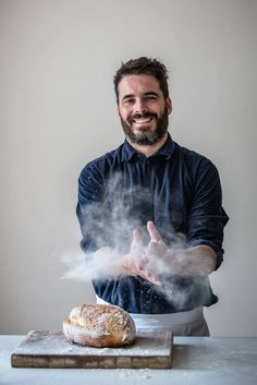 Tom Herbert from Hobbs House Bakery by Mark Lord Photography
