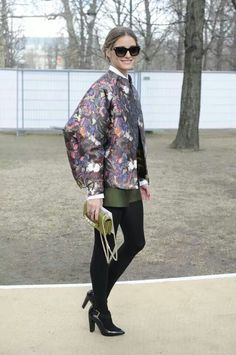 Valentino. Olivia Palermo's Butterfly effect.